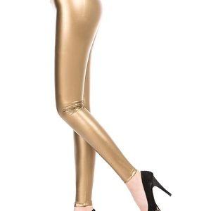 Pants - Gold leggings